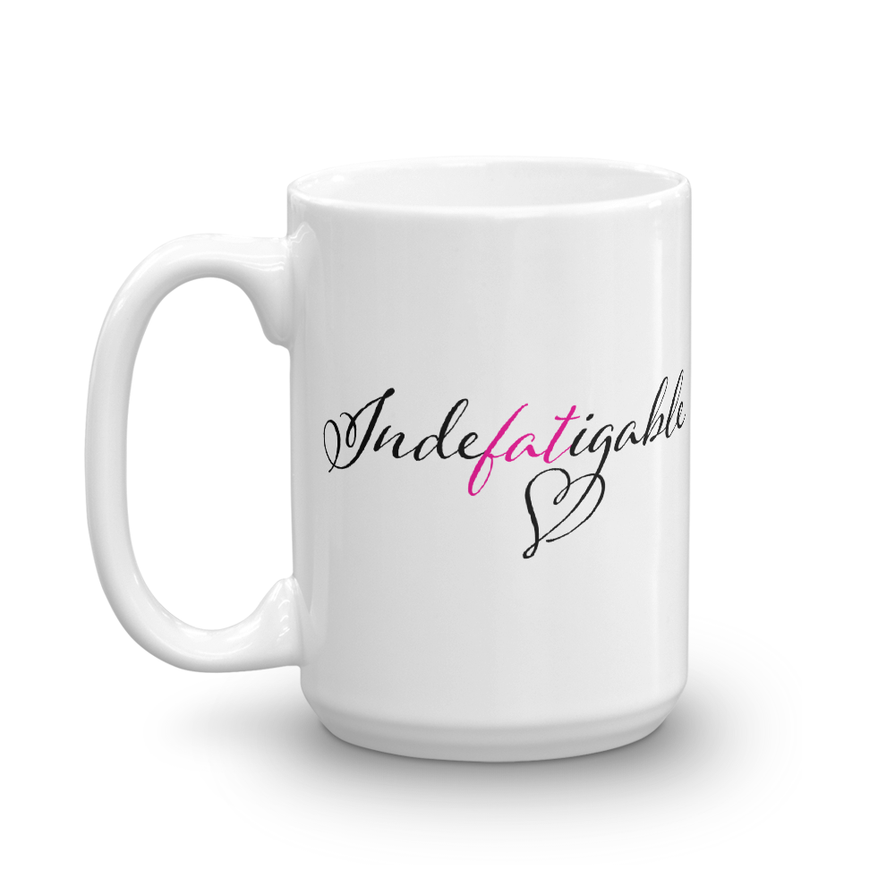 Idefatigable 15 oz mug - 1 view